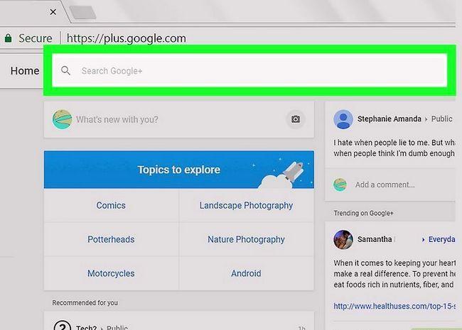 Prent getiteld Voeg kontakte by in Gmail Stap 14