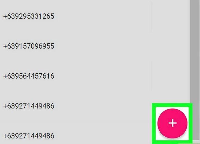 Prent getiteld Voeg kontakte by in Gmail Stap 4