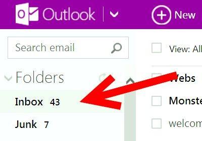 Prent getiteld Voeg hiperskakels by E-pos boodskappe in Hotmail Stap 4