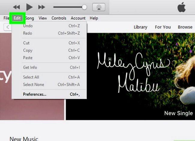 Prent getiteld Musiek byvoeg van iTunes na Windows Movie Maker Stap 2