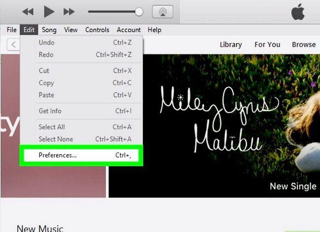 Beeld getiteld Musiek byvoeg van iTunes na Windows Movie Maker Stap 3