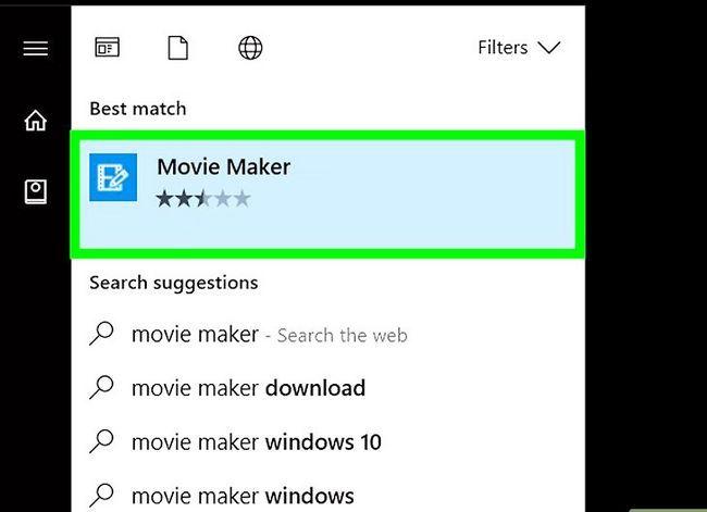 Beeld getiteld Musiek byvoeg van iTunes na Windows Movie Maker Stap 10
