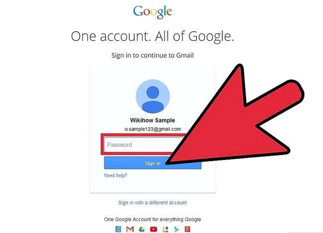 Prent getiteld Voeg notas in Gmail Stap 1