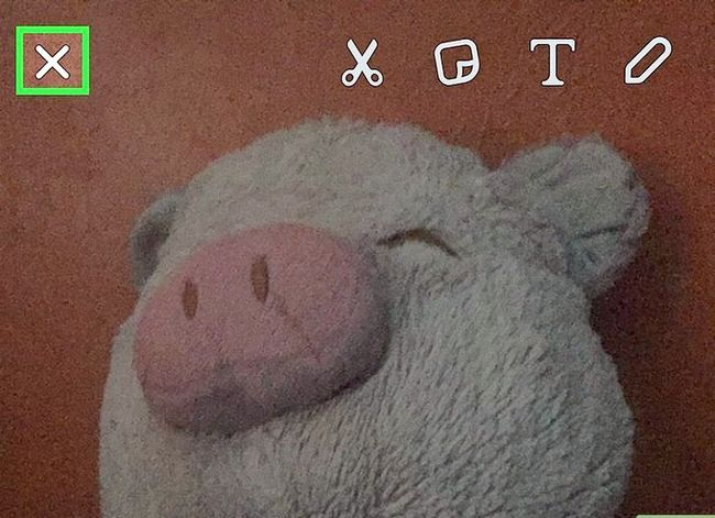 Prent getiteld Voeg Snapchat Snaps by Instagram Stories Stap 5