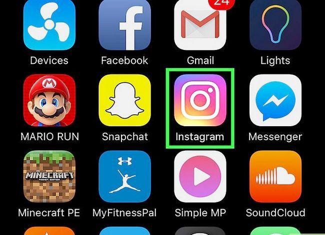 Beeld getiteld Voeg Snapchat Snaps by Instagram Stories Stap 6