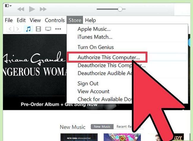 Beeld getiteld Voeg `n toestel by iTunes Stap 2