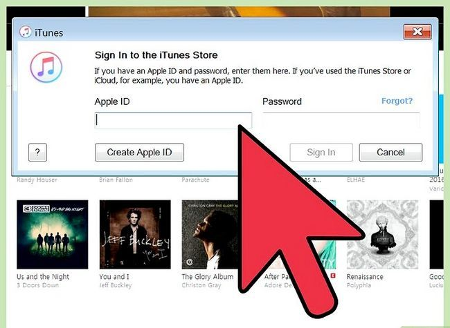 Prent getiteld Voeg `n toestel by iTunes Stap 3