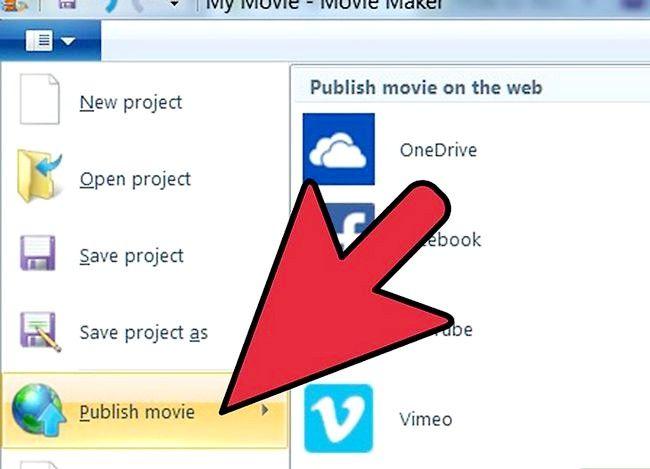 Prent getiteld Voeg `n Windows Movie Maker Video by YouTube Stap 2