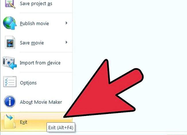 Prent getiteld Voeg `n Windows Movie Maker Video by YouTube Stap 6
