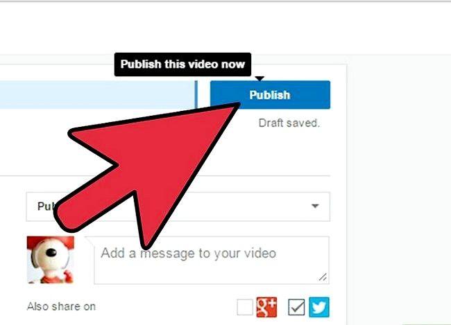 Prent getiteld Voeg `n Windows Movie Maker Video by YouTube Stap 10