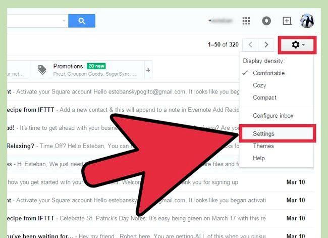 Beeld getiteld Voeg `n rekening by jou Gmail Stap 2