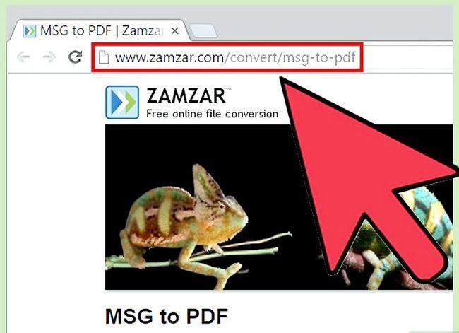 Beeld getiteld Open MSG Files Stap 9