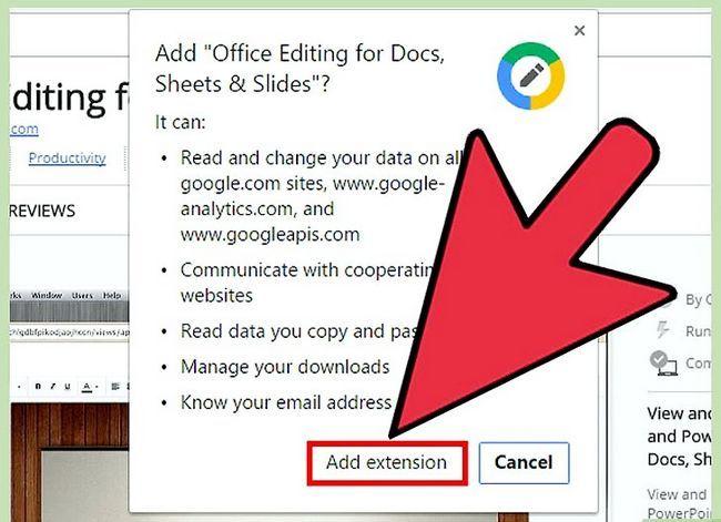 Prent getiteld Open Google Docs Stap 12
