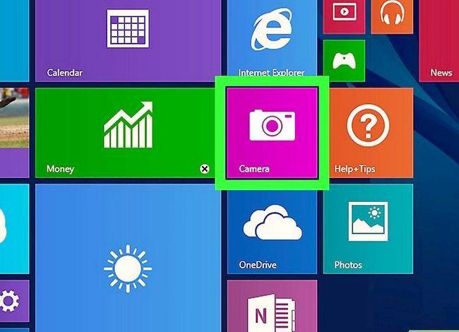 Prent getiteld Open die ingeboude kamera in Windows 8 Stap 3