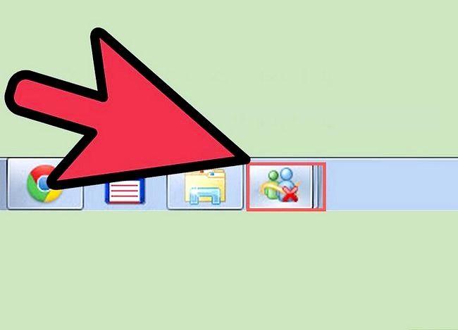 Prent getiteld Meerdere rekeninge oopmaak in Windows Live Messenger Stap 5