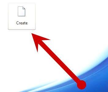 Prent getiteld Open `n nuwe dokument in Microsoft Office Word 2010 Stap 4