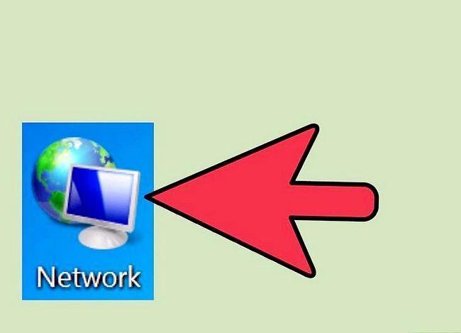 Prent titel Toegang gedeelde dopgehou op `n netwerk Stap 4