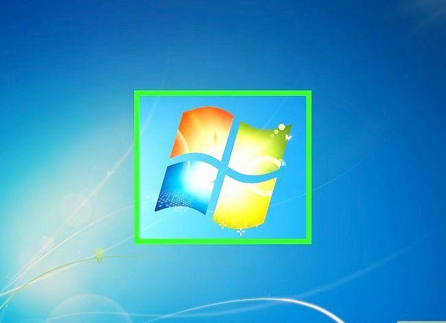 Prent titel Toegang gedeelde dopgehou in Windows 7 Stap 1
