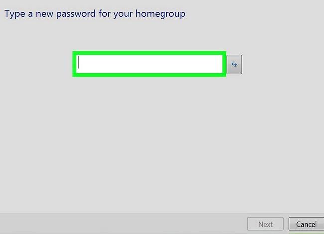Prent titel Toegang gedeelde dopgehou in Windows 7 Stap 11