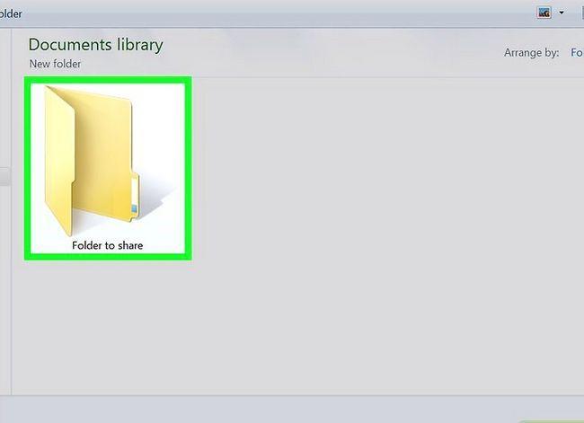 Prent titel Toegang gedeelde dopgehou in Windows 7 Stap 5