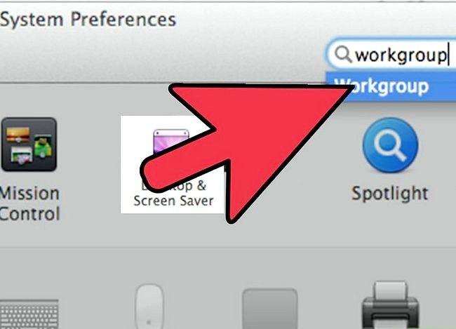 Prent titel Toegang Ander Rekenaars op Mac Stap 12