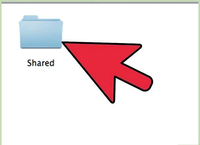Prent titel Toegang Ander Rekenaars op Mac Stap 16