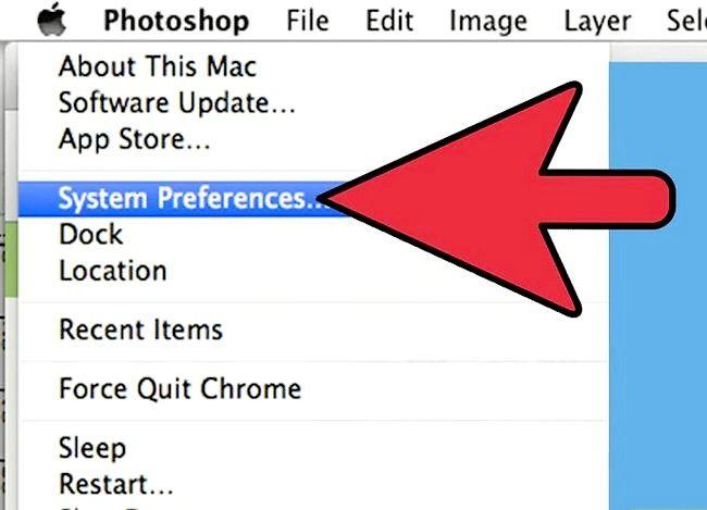 Prent titel Toegang Ander Rekenaars op Mac Stap 2