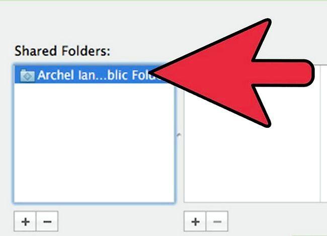 Prent titel Toegang Ander Rekenaars op Mac Stap 4