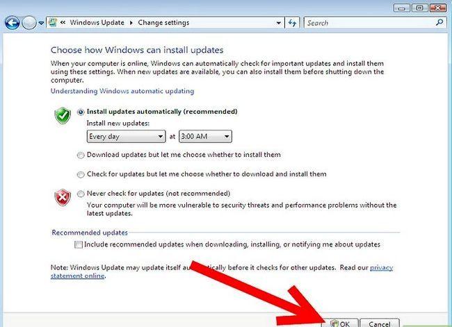 Prent getiteld Aktiveer Outomatiese opdaterings Stap 6