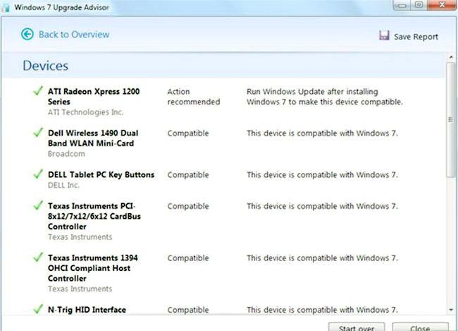 Beeld getiteld Upgrade van Windows Vista na Windows 7 Stap 4