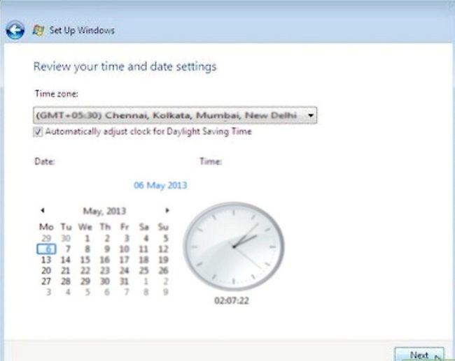 Prent getiteld Installeer Windows Vista Stap 11