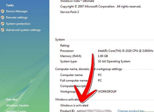 Prent getiteld Upgrade Windows XP na Vista Stap 16