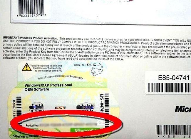 Prent getiteld Upgrade Windows XP na Vista Stap 7