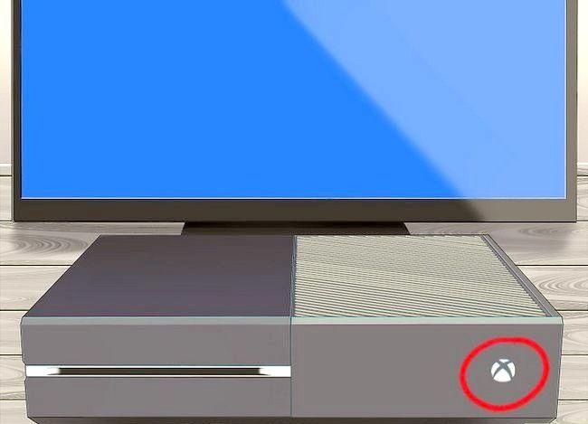 Prent getiteld Werk die Xbox Stap 1 op
