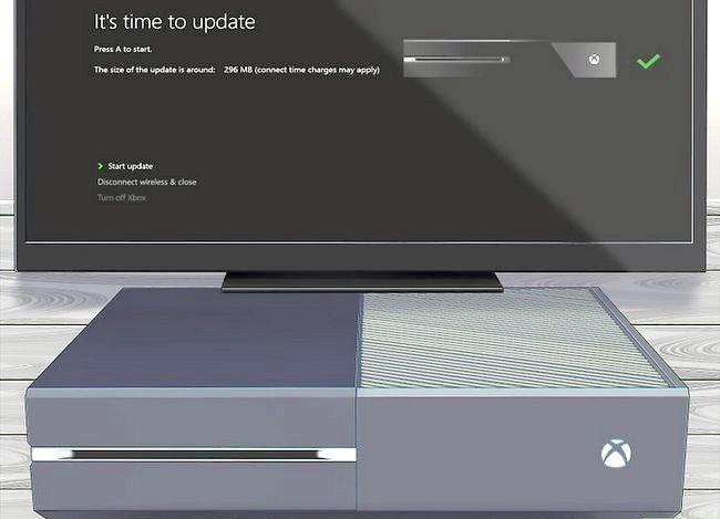 Prent getiteld Werk die Xbox Stap 17 op