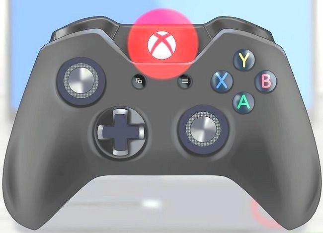 Prent getiteld Werk die Xbox Stap 2 op