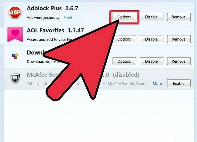 Prentjie-opdaterings-invoegtoepassings op Firefox Stap 5