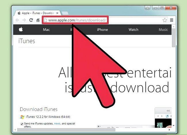 Prent getiteld Handmatig Update iTunes Stap 7