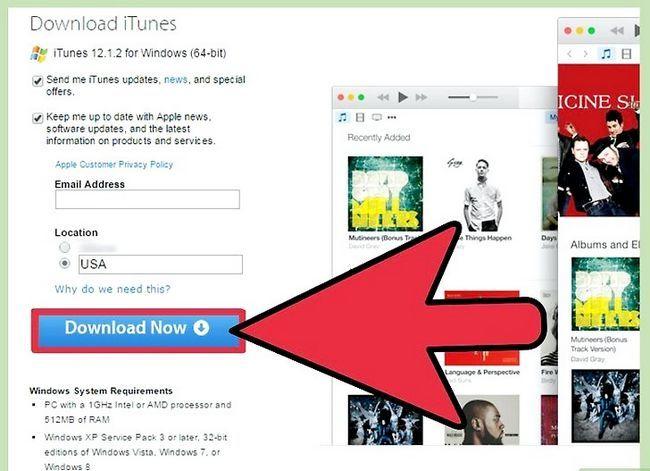 Prent getiteld Handmatig Update iTunes Stap 8