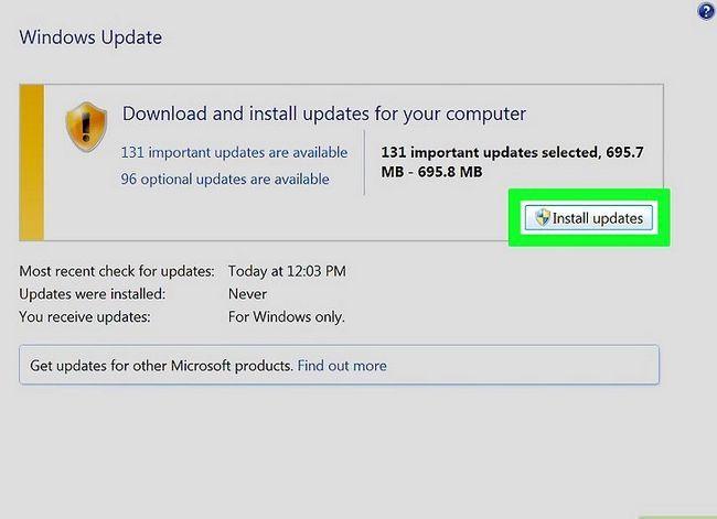Beeld getiteld Werk Windows Stap 3 op