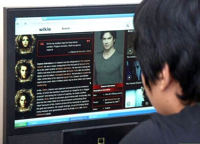 Beeld getiteld Wet soos Damon Salvatore van die Vampire Diaries Stap 10