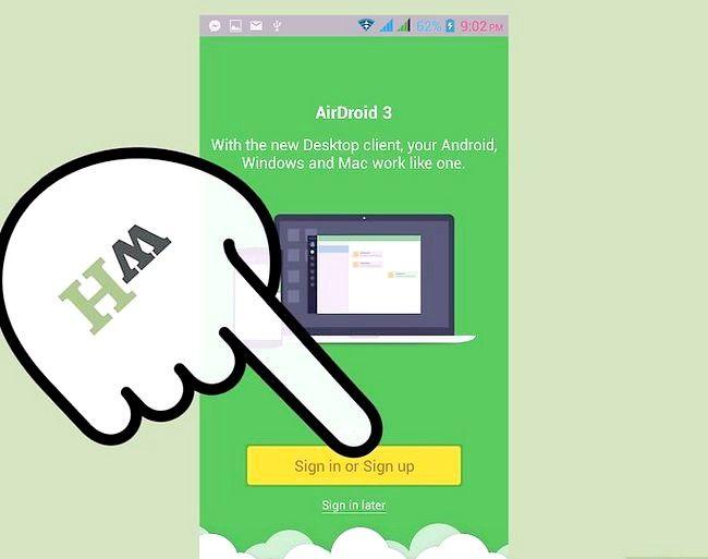 Prent titel Bestuur lêers op Android met `n Mac Stap 13