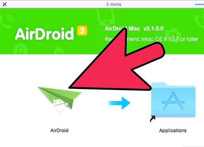 Prent titel Bestuur lêers op Android met `n Mac Stap 8