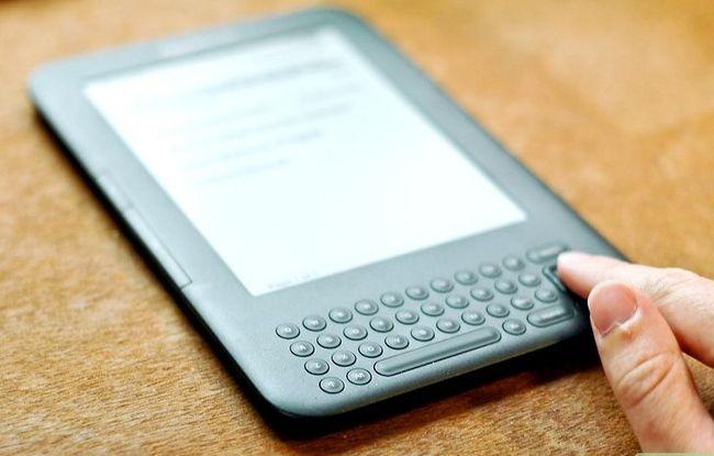 Prent getiteld Voeg notas by Kindle Stap 1