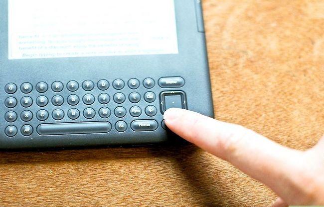 Prent getiteld Voeg notas by Kindle Stap 3