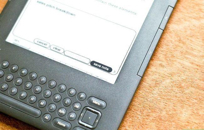 Prent getiteld Voeg notas by Kindle Stap 7