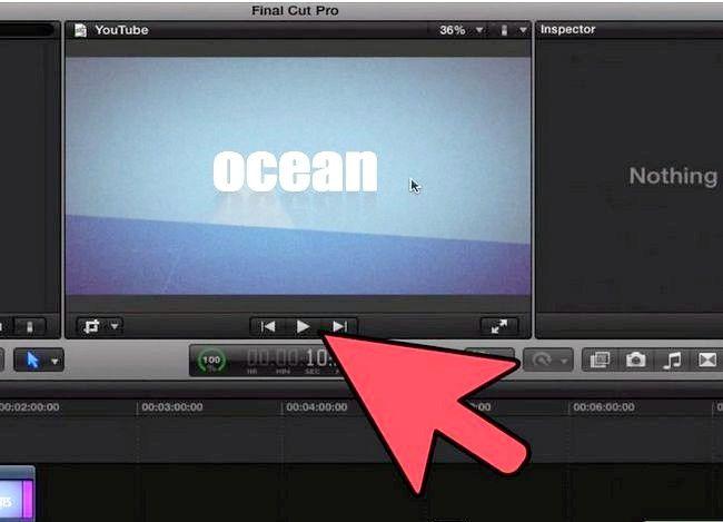 Prent getiteld Voeg teks oor video in Final Cut Pro Stap 13