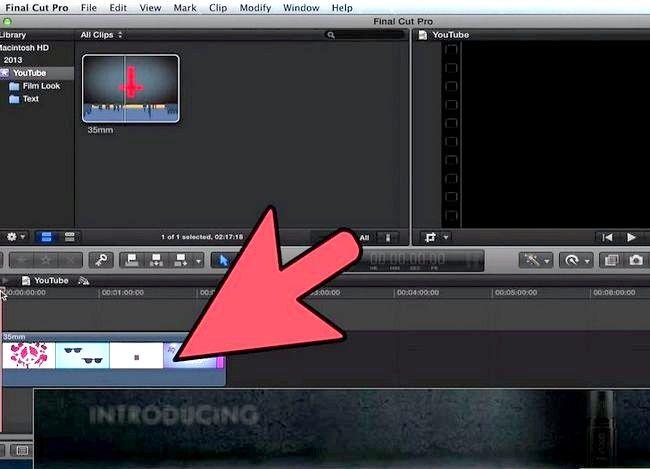 Prent getiteld Voeg teks oor video in Final Cut Pro Stap 3