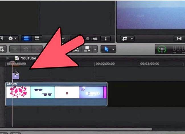 Prent getiteld Voeg teks oor video in Final Cut Pro Stap 8