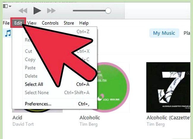 Prentjie titel Voeg `n CD by die iTunes-biblioteek Stap 2